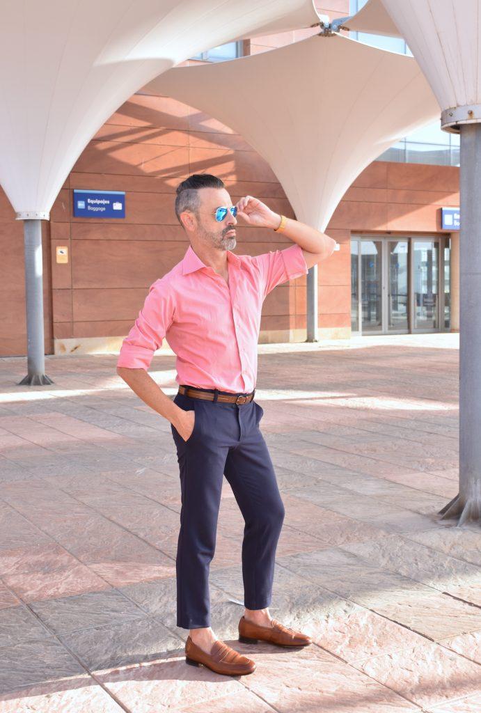Pantalones De Vestir Para Hombres Combinar Un Pantalon Azul